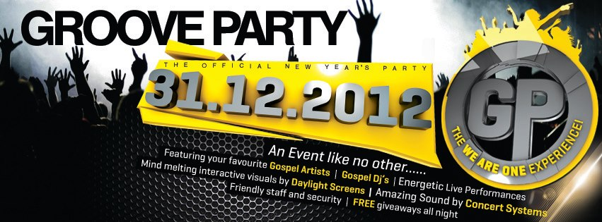 Groove Party 31st december 2012